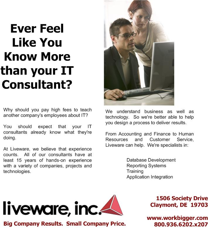Do you know more than your consultants?
